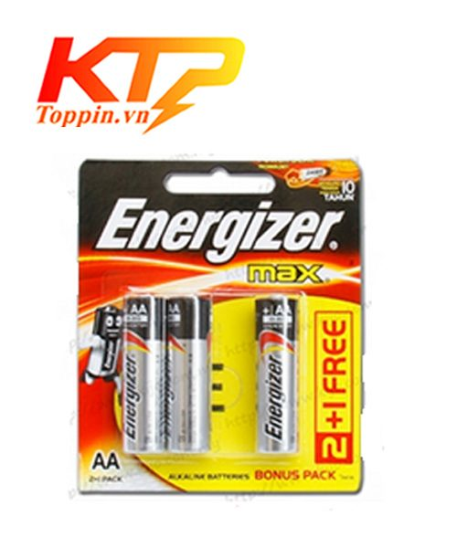 Pin Energizer aa vỉ 3 viên