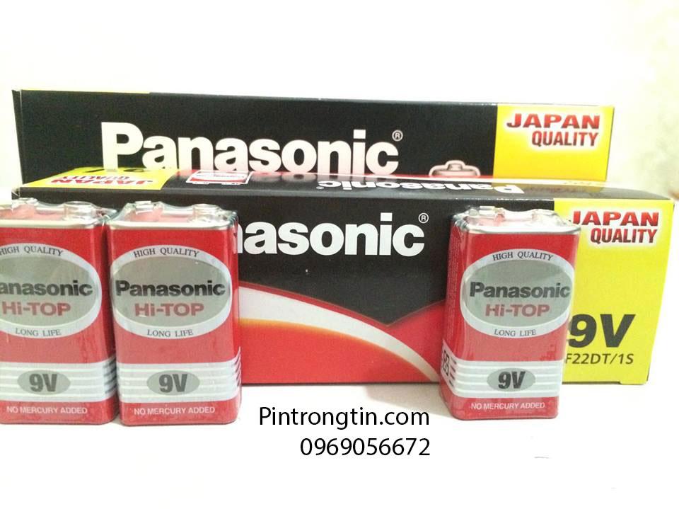 Pin panasonic 9v 6F22DT/1S chính hãng