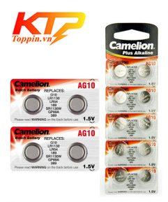 Pin Camelion Alkaline 1.5v AG10