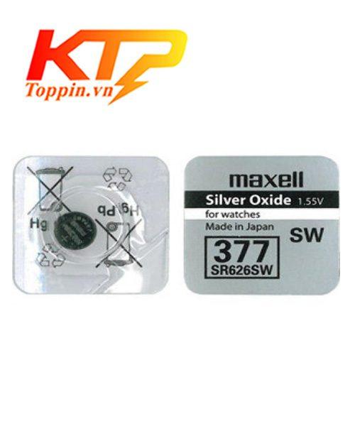 Pin maxell SR626 – Pin Đồng Hồ