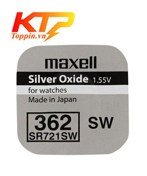 Pin maxell SR721  – Pin maxell Đồng Hồ