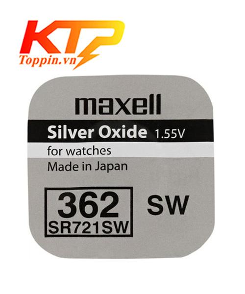 Pin maxell SR721 - Pin maxell Đồng Hồ
