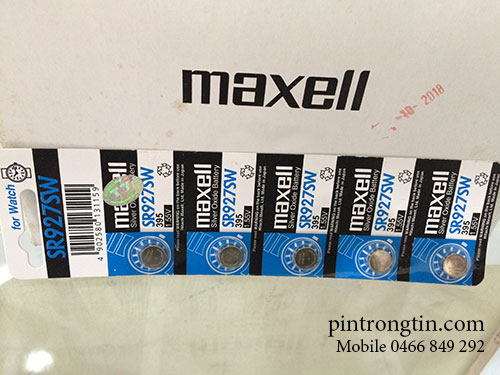 Pin maxell sr927 giá rẻ