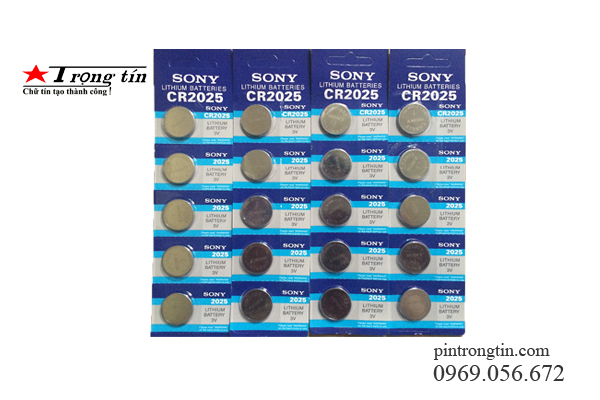 Pin sony cr2025