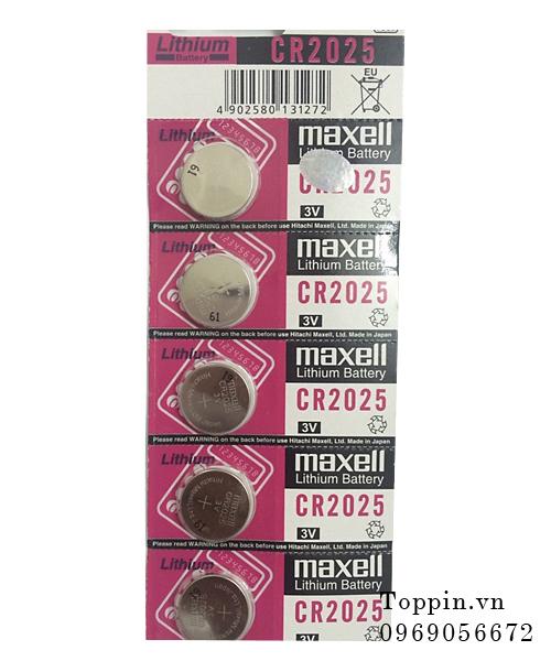 Pin maxell cr2025