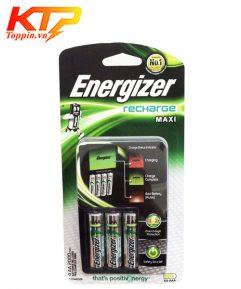 Bộ sạc pin Energizer gồm 4 viên pin chính hãng