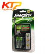 Bộ sạc pin Energizer 4 kèm 2 pin chính hãng
