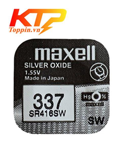 Pin maxell SR416SW