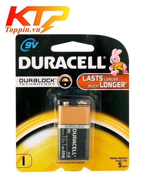 pin 9v Duracell