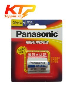 Pin CR123 Panasonic - Pin Lithium 3v