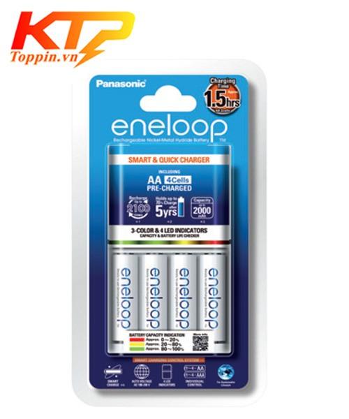 Bộ pin sạc Eneloop BQ-CC55E
