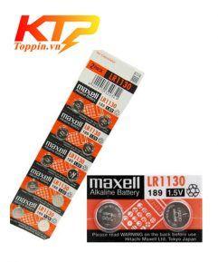 pin Maxell LR1130 chính hãng, pin cúc Maxell