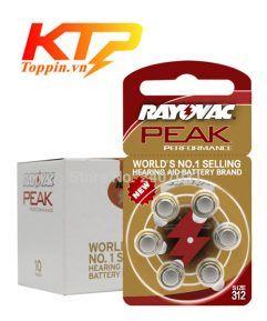 pin máy trợ thính Rayovac 312