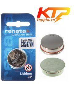 pin CR2477N Renata Thụy Sỹ