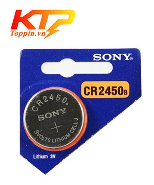 pin Sony CR2450B lithium 3V chính hãng