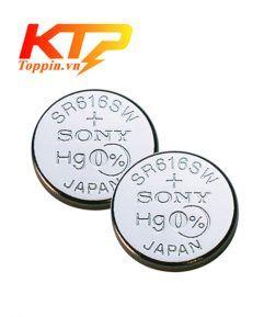 pin Sony SR616SW - pin đồng hồ