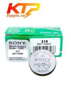pin Sony SR716SW - pin đồng hồ