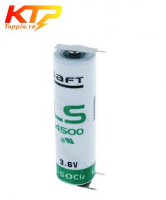 Pin Saft LS14500 có giắc cắm 3.6V