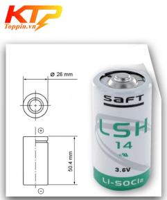 Pin Saft LSH14 3.6V