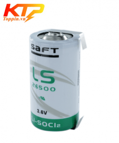 Pin Saft LS26500 có giắc 3.6V