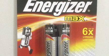 Pin Energizer chính hãng tốt nhất hiện nay