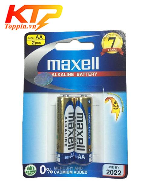 pin maxell aa alkaline