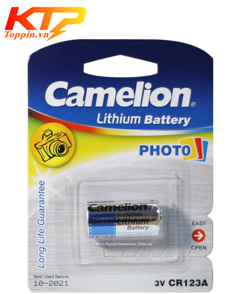 Pin Camelion CR123 – Pin Lithium 3v