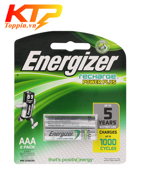 pin sạc energizer AAA 900mah