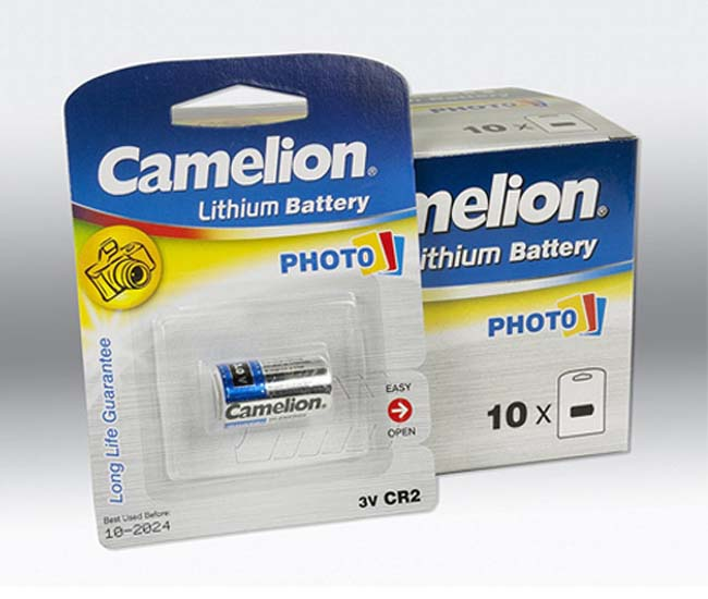pin camelion cr2
