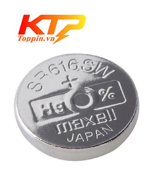 Pin maxell SR616 – Pin Đồng Hồ chính hãng