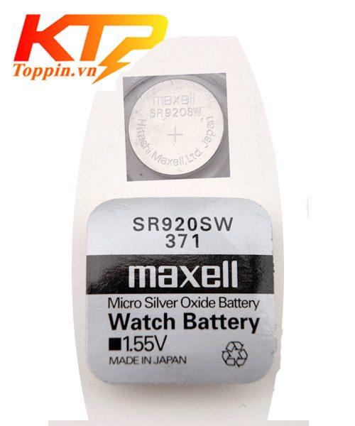 Pin Maxell SR920 – Pin đồng hồ