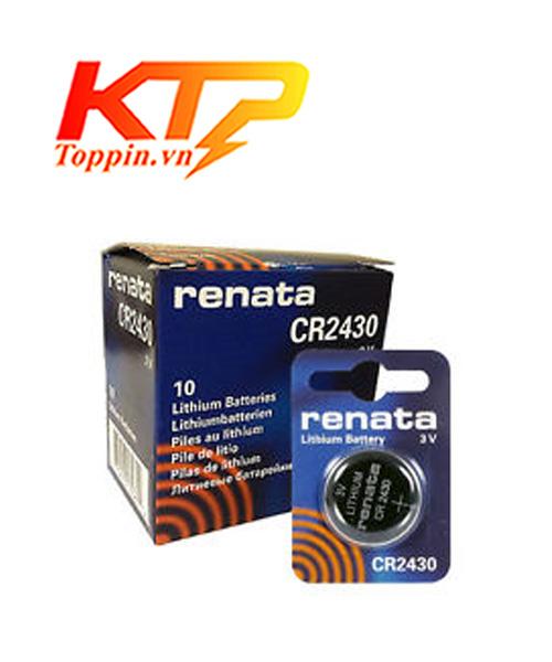 pin CR2430 Renata Thụy Sỹ