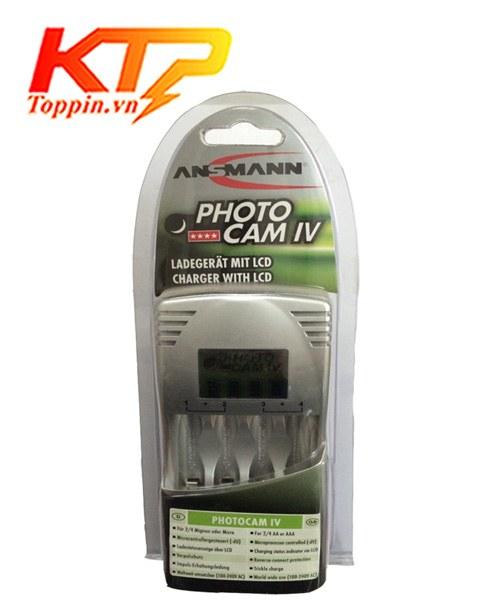 Bộ sạc Ansmann Photo Cam IV