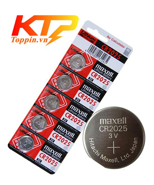 Pin Maxell CR2025
