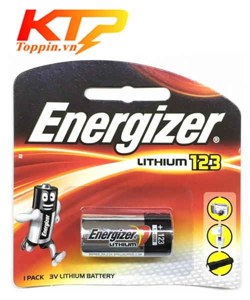 Pin CR123 Energizer – Pin Lithium 3v