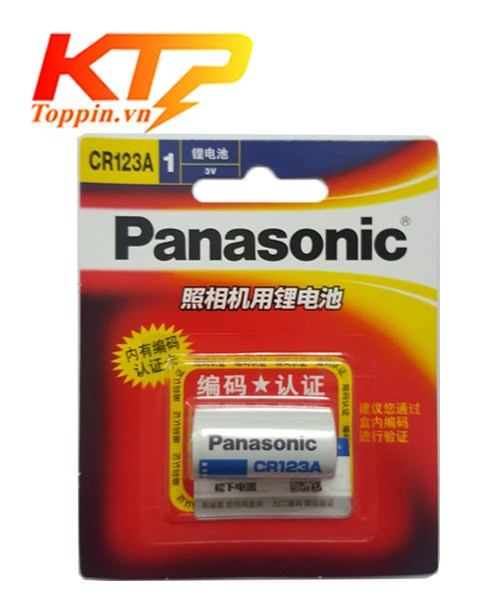 Pin CR123 Panasonic – Pin Lithium 3v