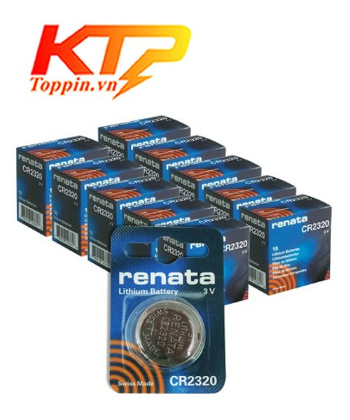 pin CR2320 Renata Thụy Sỹ