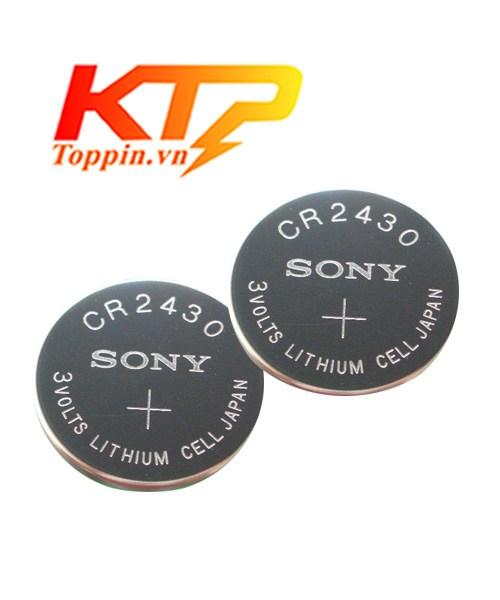 pin Sony CR2430 lithium 3V chính hãng