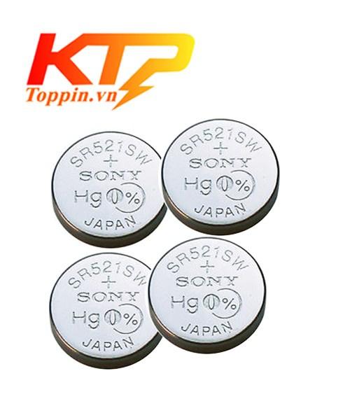 pin Sony SR521SW – pin đồng hồ