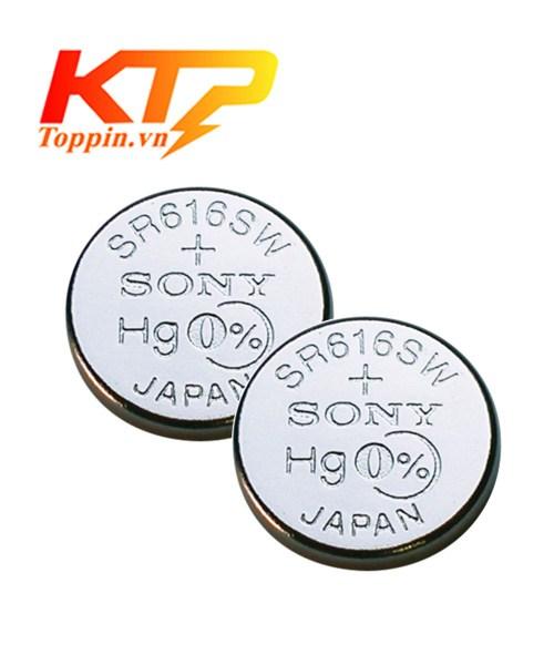 pin Sony SR616SW – pin đồng hồ