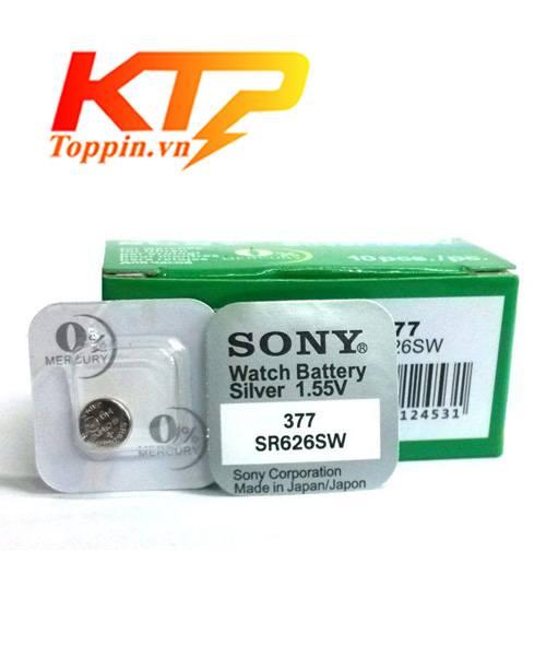 pin Sony SR626SW – pin đồng hồ