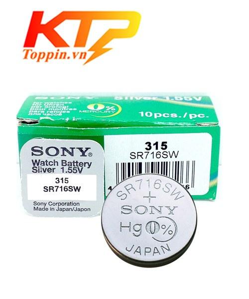 pin Sony SR716SW – pin đồng hồ