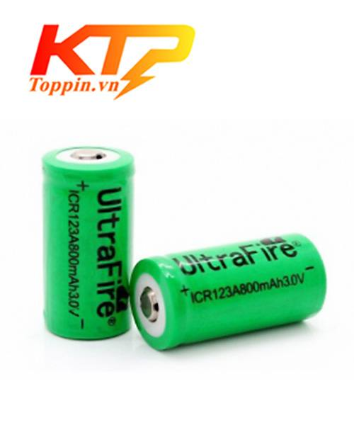 pin sạc CR123A – 3V 800mAh UltraFire