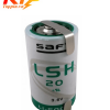 Pin Saft LSH20 có giắc 3.6V