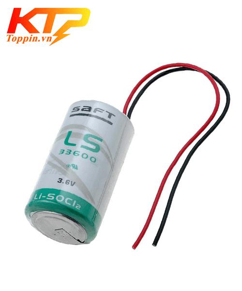 Pin Saft LS33600 có giắc cắm 3.6V