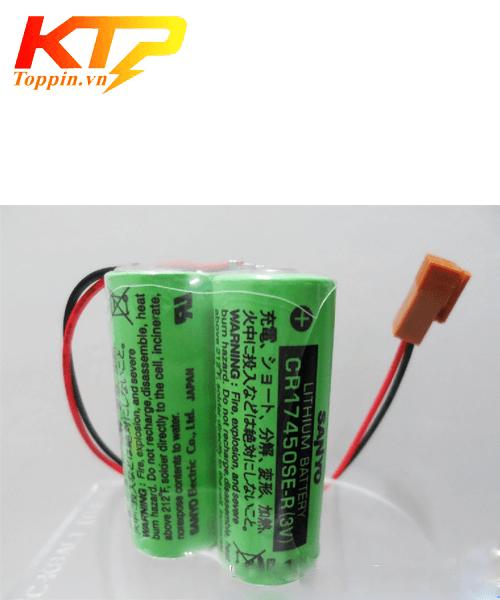 Pin Sanyo 2CR17450SE-R
