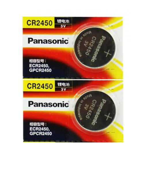 pin Panasonic CR2450 lithium 3V chính hãng