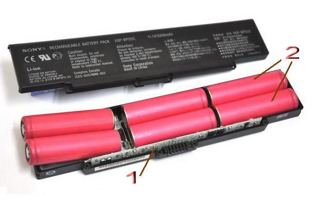 Thay pin Laptop - pin 18650 chính hãng chất lượng cao