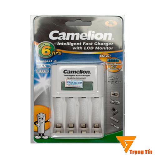 Máy sạc pin BC 1012 Camelion có màn hình