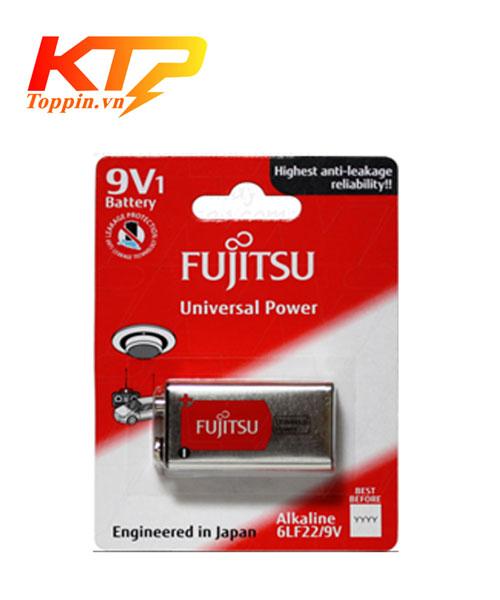 Pin 9V Fujitsu chính hãng, Pin 6LF22 Alkaline